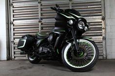 Kawasaki Vaquero    Ridewright Wheels #45