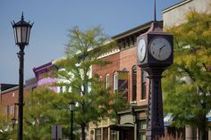 Delightful Town #town #architecture #northville