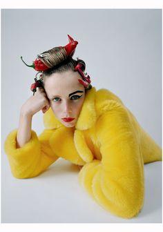 Edie Campbell, Vogue Us 2015 Nov. Photo Tim Walker.