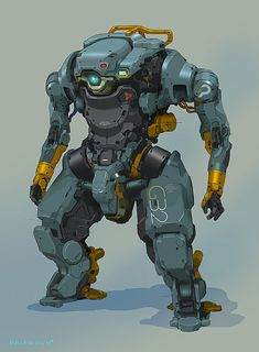 "roguetelemetry: "" (via ArtStation - Heavy Lifter, Brian Sum) """