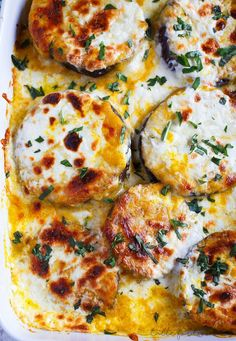 Pumpkin eggplant casserole with burrata   Table for Two