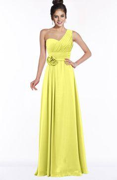 fa4145fc371a ColsBM Tegan - Pale Yellow Bridesmaid Dresses. ColsBM Tegan Pale Yellow  Modern Sleeveless Zip up Chiffon ...