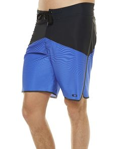 30d3d5c2ca I know you want this Oakley Men's Crater Mens Boardshort Lace Fitted  Elastane Mens Swimwear Blue