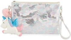 Bari Lynn Filles Sac De Poche De Camouflage W / Pompon De Fourrure Et Presser Unicorn Acheter Pas Cher Boutique Pour Best-seller vraiment Boutique D'expédition Acheter Pas Cher Combien tjGlYcl4J
