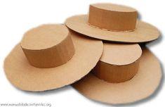 Argentina - sombrero de gaucho de carton