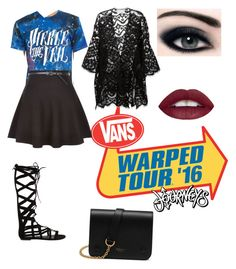 """warped tour"" by rycw180 ❤ liked on Polyvore featuring New Look, Chloé, Steve Madden and Mulberry"