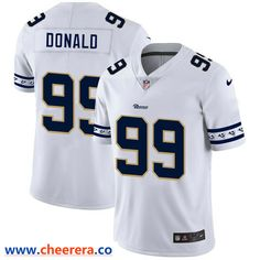 Men's Nike Los Angeles Rams #99 Aaron Donald White 2019 New Vapor Untouchable Limited Jersey