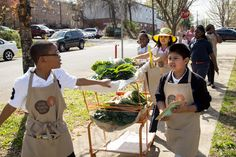 Jones Valley Farm is doing a great job with student farmers markets