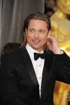 #Oscar #Oscars Brad ;) que charme!