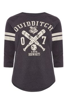 Primark - Harry Potter Quidditch Raglan T-Shirt