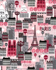 Hello Paris - Hot Spots to Visit - Petal Pink