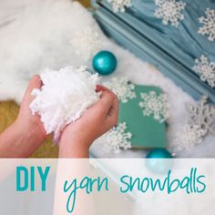Too cold to be outside? Learn how to make snowballs out of yarn and shimmy and shake along to Bee's song with your kids! Bring the outside inside with a snowball fight!
