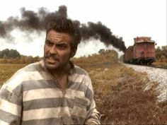 O Brother Where Art Thou? - George Clooney train scene OFFICIAL HD VIDEO