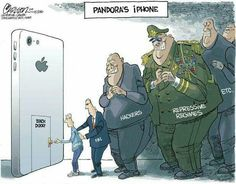 Apple phone controversy after San Bernadino incident.