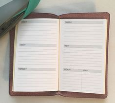 DIY Midori Traveller's Notebook Inserts