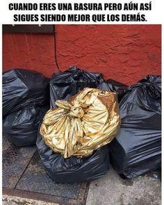 Hasta la basura se separa