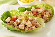 Turkey Lettuce Snack Wraps | turkey tacos | JennieO | #BiggestLoser http://www.jennieo.com/recipes/756-Turkey-Lettuce-Snack-Wraps