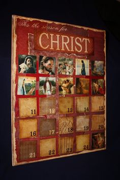 Little Inspirations: Remember Christ - Christmas Advent