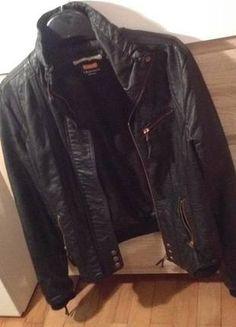 Kup mój przedmiot na #vintedpl http://www.vinted.pl/damska-odziez/inne-ubrania/10603645-czarna-skora-skora