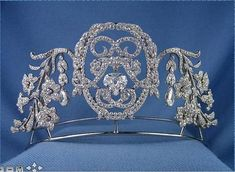 Another photo of the 1905 Chaumet tiara when it graced the S J Phillip's site