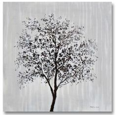 Tree Study I 40x40 Tree Study, Original Art, The Originals, Flowers, Plants, Collection, Florals, Planters, Flower