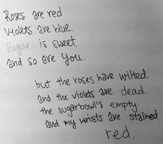 self+harm+poems | me depressed sad cut cutting poetry poem miserystoner •