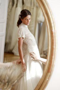 Vestido de novia de la colección Basaldúa alta costura