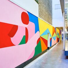 This Is The Way - recently completed mural at the Bonhill...