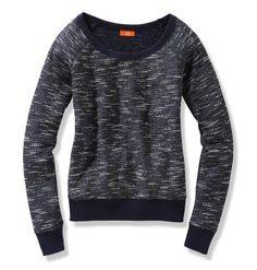 Joe Fresh Women's Melange Pullover