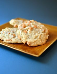 Butterscotch Coconut Cookies  (www.goodbakes.com)