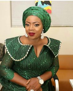 Latest Aso Ebi Styles 2018 for African Ladies - DeZango African Lace Styles, African Lace Dresses, African Dresses For Women, African Attire, African Outfits, African Fashion Ankara, African Fashion Designers, Latest African Fashion Dresses, African Print Fashion