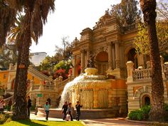 Cerro Santa Lucia, Santiago thinking of doing my save the dates picture here!!