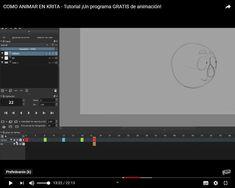 Krita-animácia-španielčina Krita Tutorial