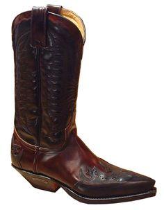 Sendra 2476 black-cherry Western Boots