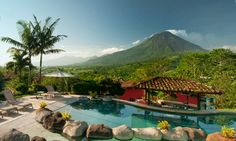 Mountain Paradise is a great budget-friendly option in Arenal volcano area.