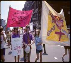 Christopher Street, 1971. Courtesy of the New York Public Library.