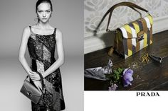 Gemma Ward for Prada