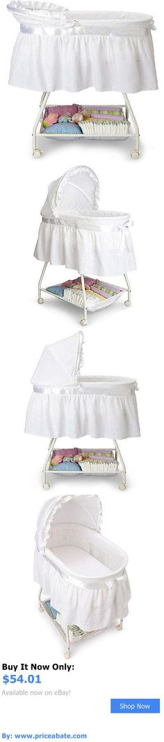Baby Nursery Portable Baby Bassinet Cradle Infant Sleeper White Nursery Newborn Crib BUY IT NOW - portable baby sleeper