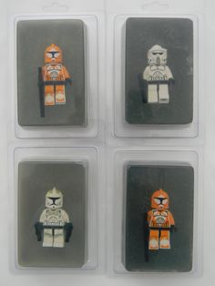 Star Wars Lego Soap
