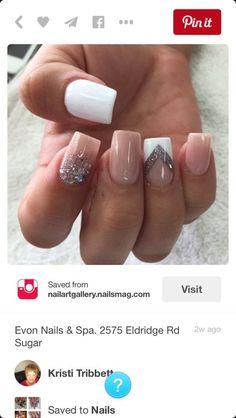 Best Nude Nail Polish Shades Ideas for Every Skin Tone - Nails Update - Nail Art Design Nude Nails, White Nails, My Nails, Stiletto Nails, Trendy Nail Art, Stylish Nails, Sophisticated Nails, Cute Nail Designs, Acrylic Nail Designs