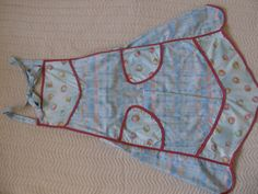 Cotton Print Apron by SusanDeanne on Etsy, $18.00