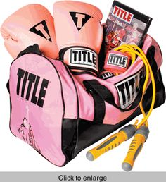 This TITLE Boxing Training Kit is an online exclusive!