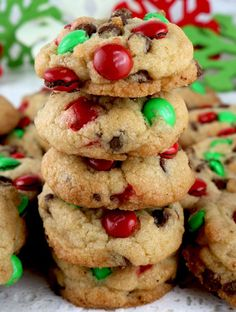 """12 Christmas Cookie Recipes To Bake For The Whole Family, Essen & Trinken, """" Christmas Party Food, Xmas Food, Noel Christmas, Christmas Treats, Holiday Treats, Christmas Foods, Christmas Things, Holiday Foods, Christmas Desserts"""