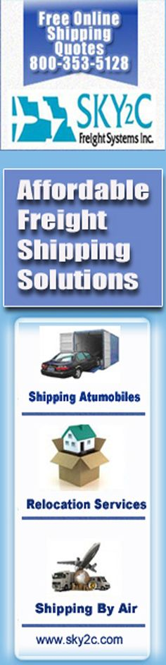 Get affordable shipping via sky2c call 800-353-5128 http://www.sky2c.com/about-us.htm