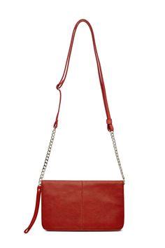 Red Flap X-Body Bag