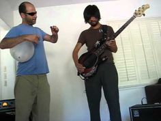 """Rumble"" by Link Wray played by Addi Somekh - Balloon Bass Joey Maramba - Electric Bass"