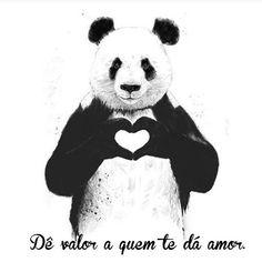 Dê valor a quem te dá amor! #regram lindo daqui  @bebravebr #frases #amor #valorize