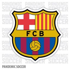 FC Barcelona Barca Spain Vinyl Sticker Decal