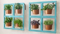 Add a Hanging Bucket Herb Planter