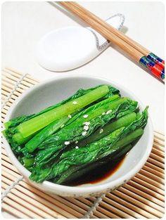 【十分鐘家常菜】台式涼拌小松菜